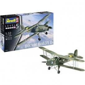 "Revell 1:32 Bucker Bu 131 ""Jungmann"" Aircraft Model Kit"