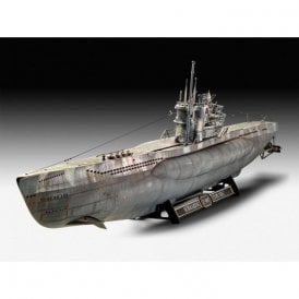 Revell 1:72 German Submarine Type VII C/41 Platinum Edition Model Ship Kit