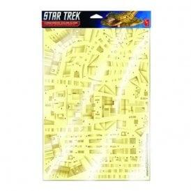 Polar Lights 1:750 Star Trek Deep Space Nine Cardassian Paneling Decals