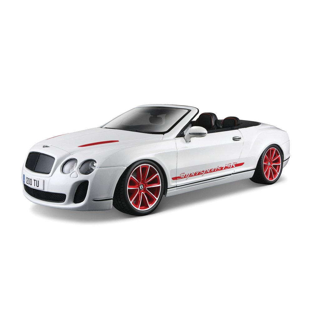 Bburago Bentley Continental Supersports Convertible Isr