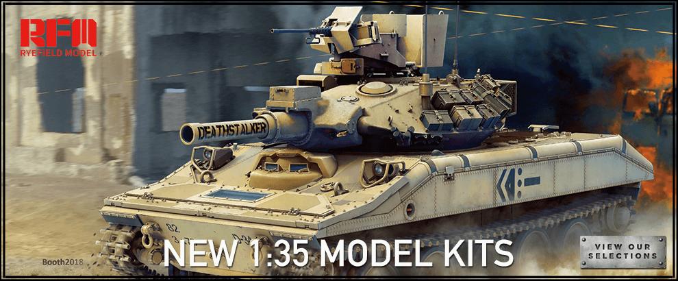 Rye Field Model Kits