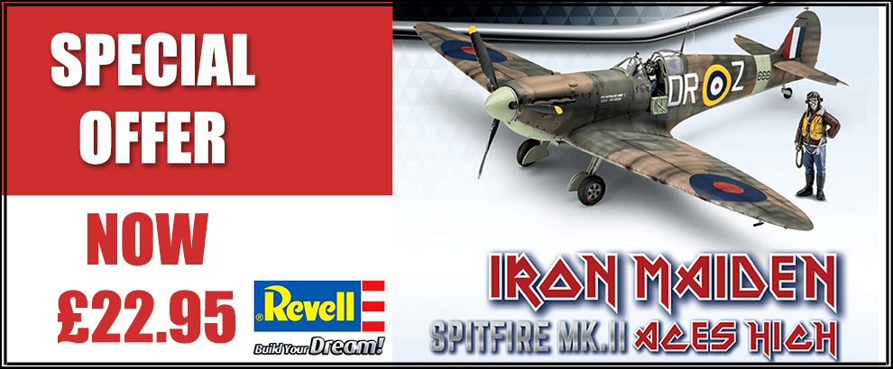 REVELL IRON Maiden spitfire offer