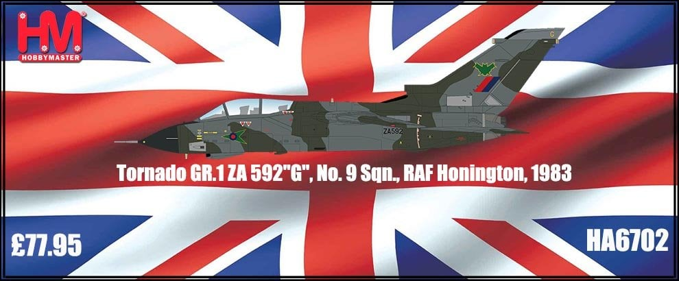 New Hobby Master Tornado RAF