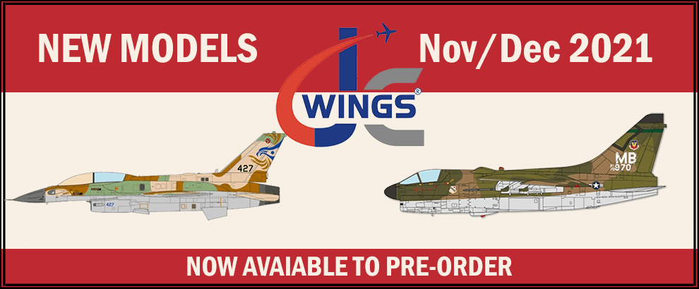 New JC Wings Military Models