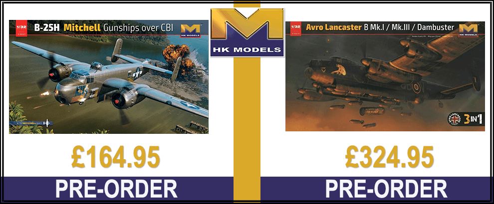 New Hong Kong Models 1:32 Kits
