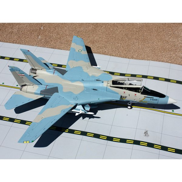 Gemini Aces F-14 Tomcat Imperial Air Force Iran Blue Pussycat