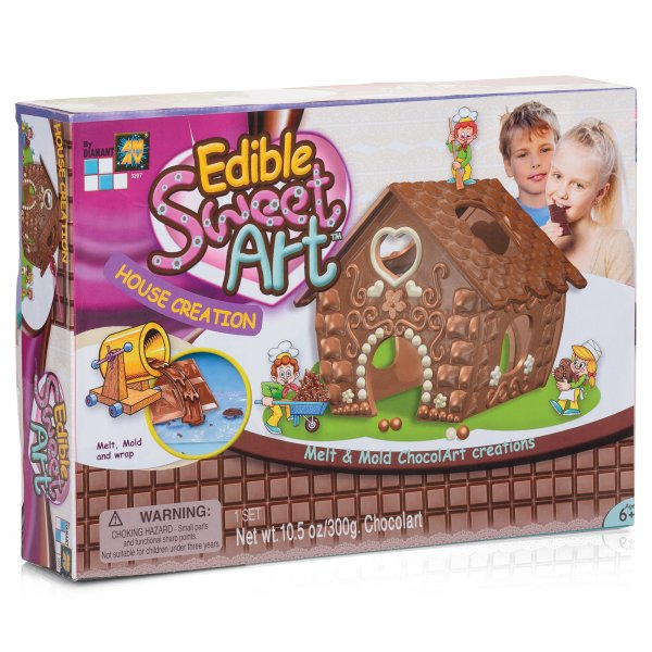 Chocolate House Creations Chocolate House Making Kit With Moulds