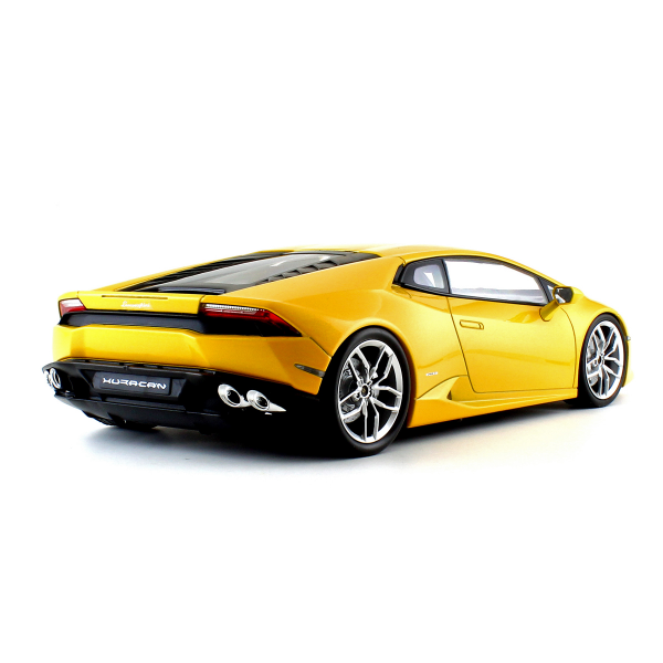 Lamborghini Huracan Lp610 4 Yellow 1 18 Scale Diecast Car From