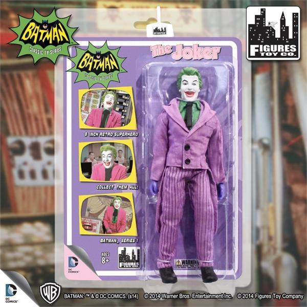 Figure 8 Cars For Sale: Figure Toy Co Classic TV Series 1966 Joker Series 1