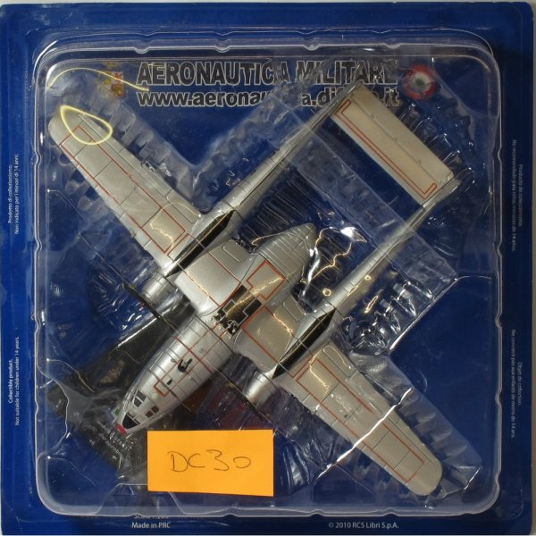 Altaya Fairchild C-119 G Flying Boxcar 2nd Gruppo 46th AG - Italian  Aircraft Collection - 1:200 Scale