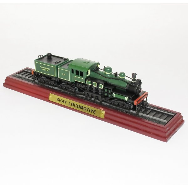 Locomotives Shay Locomotive - 1:100 Scale Model Train - from