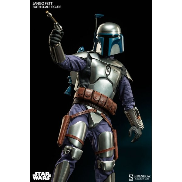 Sideshow Collectables Star Wars Jango Fett Bounty Hunter
