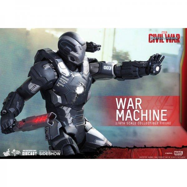 Hot Toys War Machine MkIII Diecast MMS 1:6 Scale Figure - Captain America:  Civil War