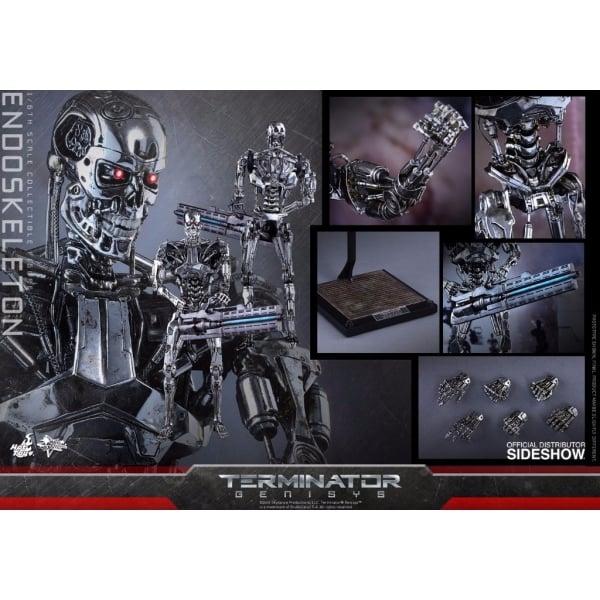 Hot Toys Terminator: Genisys Endoskeleton Figure ...
