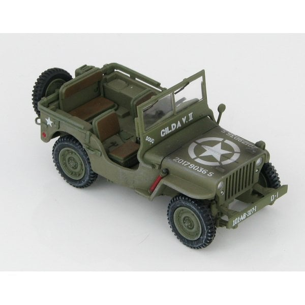 101st Airborne Division Hobby Master HG1611 Willys Jeep MB WWII 1:48