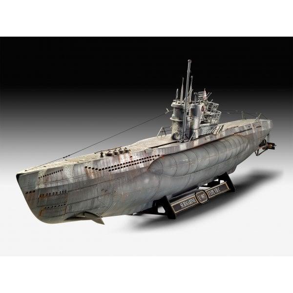 Revell 1:72 German Submarine Type VII C/41 Platinum Edition Model Ship Kit