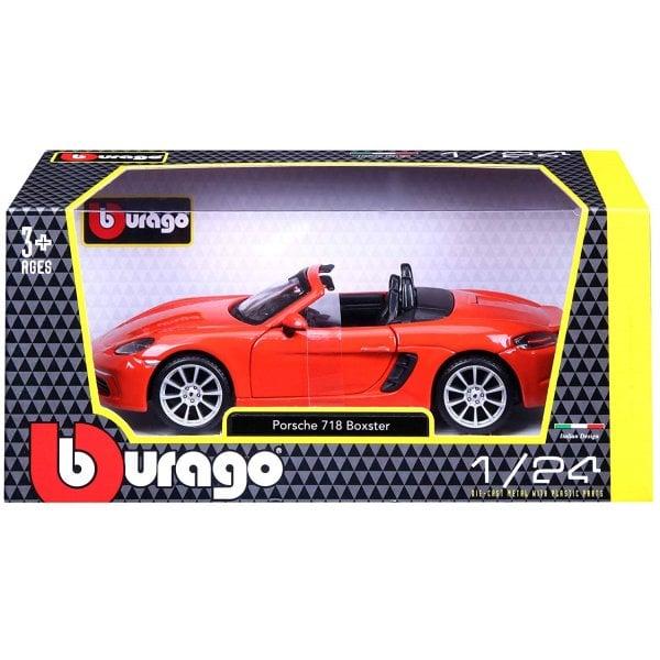 Bburago 1:24 Porsche 718 Boxster Diecast Car