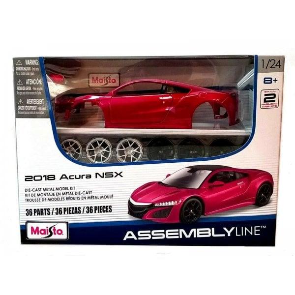 Maisto 1:24 2018 Acura NSX Assembly Line Metal Kit
