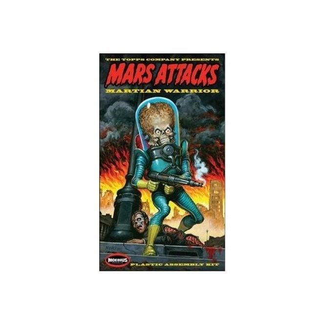 Moebius Models 1:8 MARS ATTACKS Martian Warrior Figure Kit