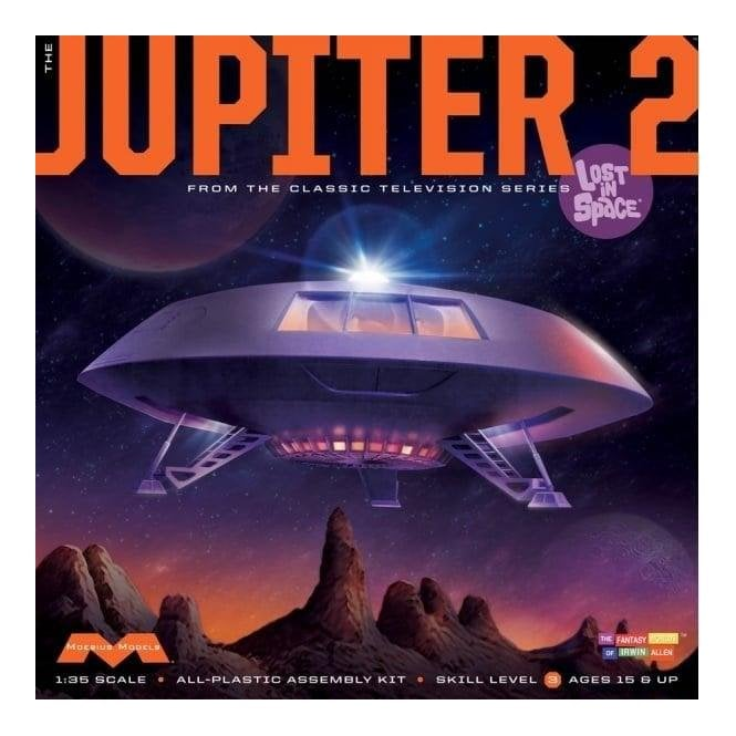 1:35 Lost in Space Jupiter 2 from the TV Series Model Kit