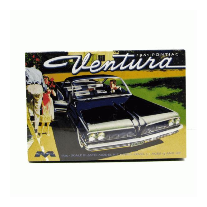 Moebius Models 1:25 1961 Pontiac Ventura SD Car Model Kit