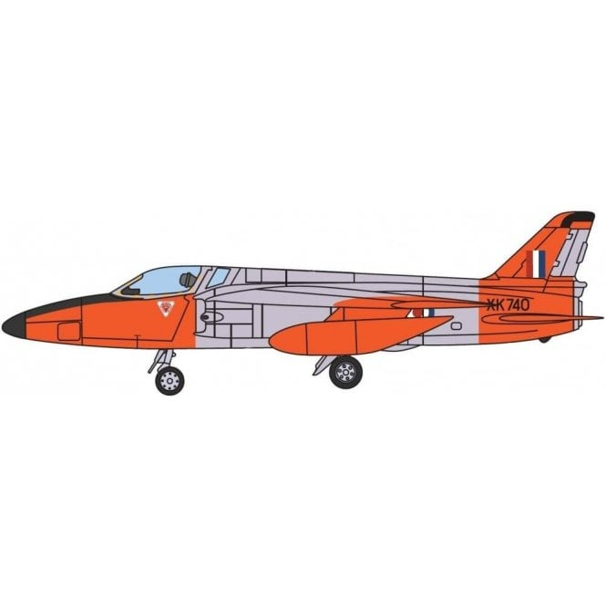 Aviation72 1:72 Folland Gnat Single Seater RAF XK740 North Weald 1963