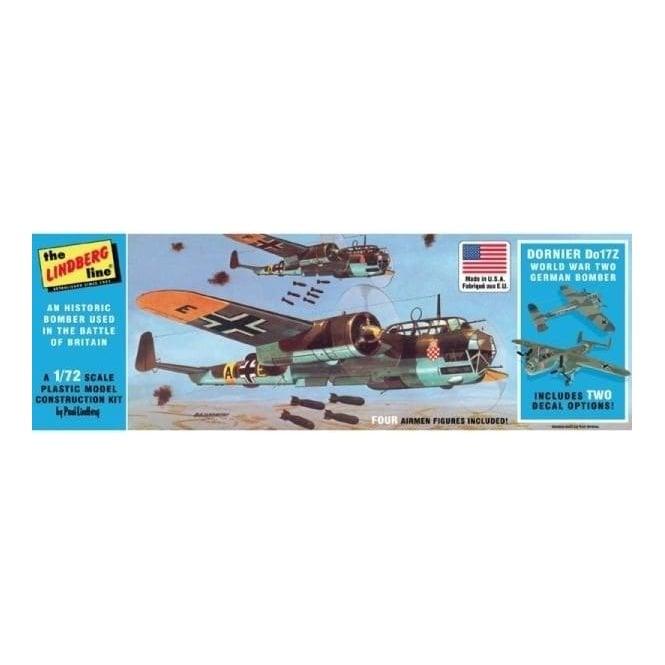 Linberg 1:72 Dornier Do17Z German Bomber Aircraft Model Kit