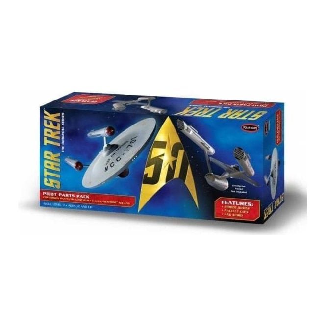 Polar Lights 1:350 Star Trek TOS U.S.S. Enterprise Pilot Parts Pack Model Kit