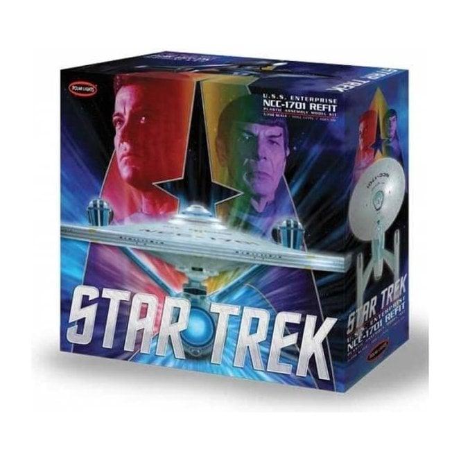 Polar Lights 1:350 Star Trek USS Enterprise Refit Model Kit