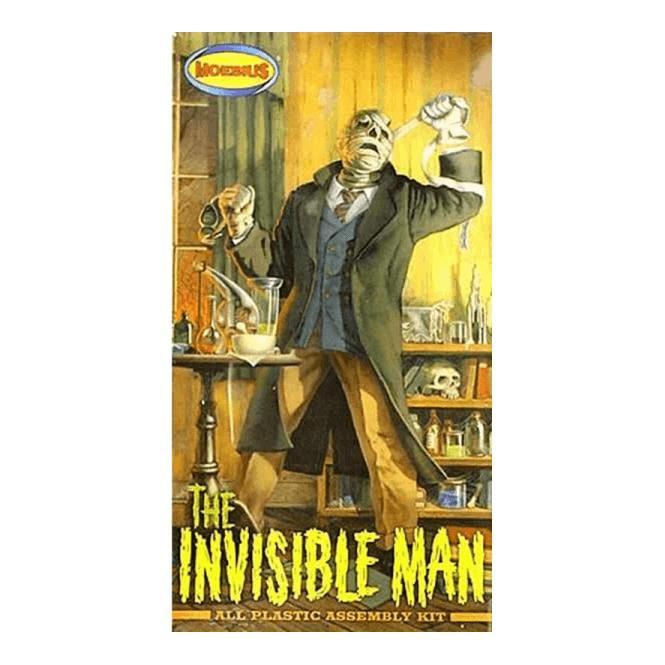 Moebius Models 1:8 Invisible Man Figure Kit