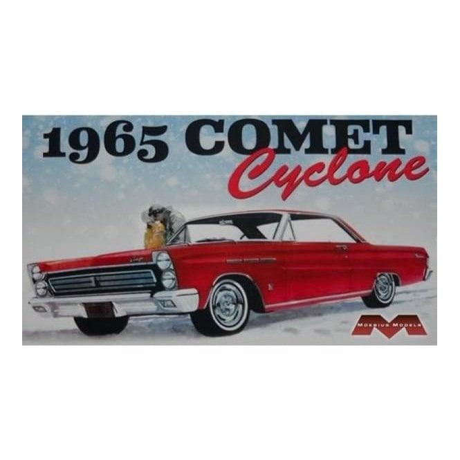 Moebius Models 1:25 1965 Mercury Comet Cyclone Car Model Kit