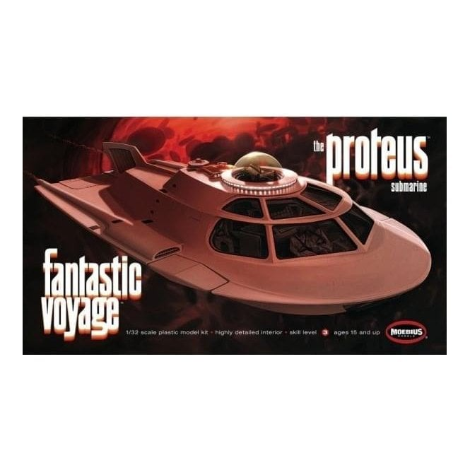 Moebius Models 1:32 Fantastic Voyage - Proteus Model Kit