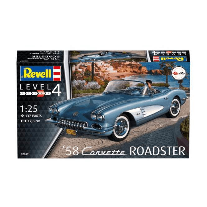 Revell 1:25 1958 Corvette Roadster Car Kit