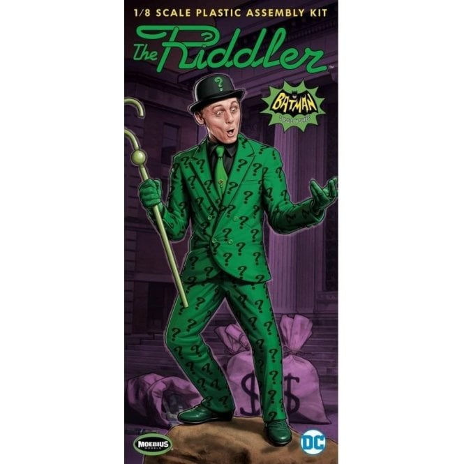 Moebius Models 1:8 Batman Classic TV Series The Riddler Figure Model Kit