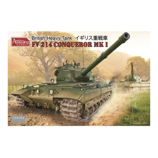 Amusing Hobby 1:35 British Heavy Tank FV214 Conqueror Mk I Military Model Kit