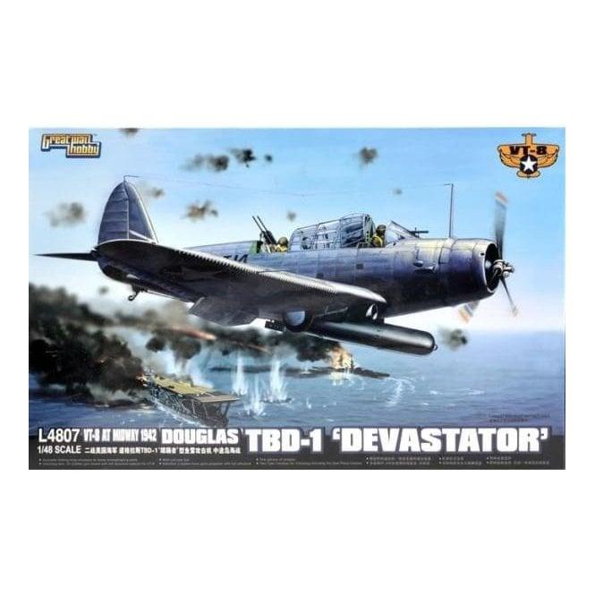 Great Wall Hobby 1:48 Douglas TBD-1 Devastator VT-8 Midway 1942 Aircraft Model Kit