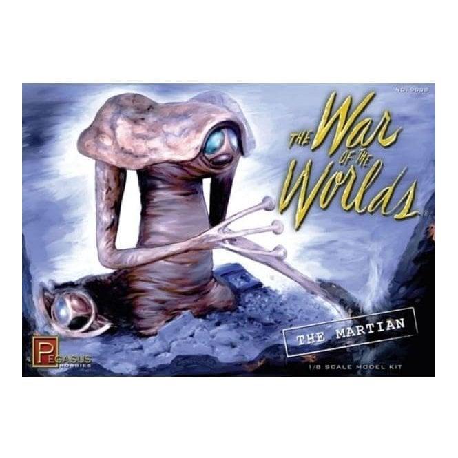 Pegasus 1:8 War of the Worlds Movie Martian Figure Kit