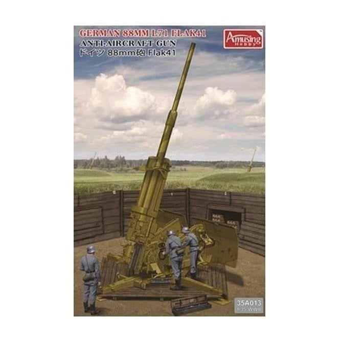 1:35 German 88mm L71 Flak41 Anit-Aircraft Gun Military Model Kit