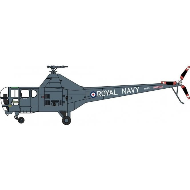 Oxford Diecast 1:72 Westland Dragonfly Royal Navy WH991 Yorkshire Air Museum