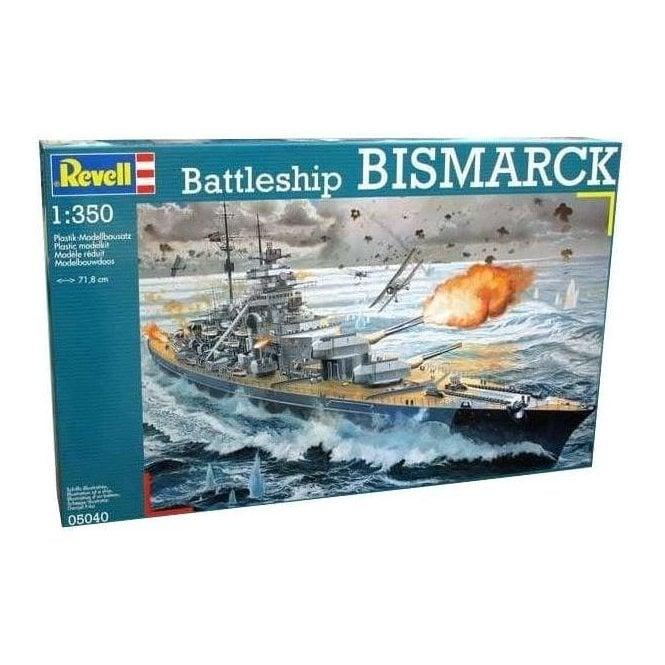Revell 1:350 Battleship Bismarck Model Ship Kit