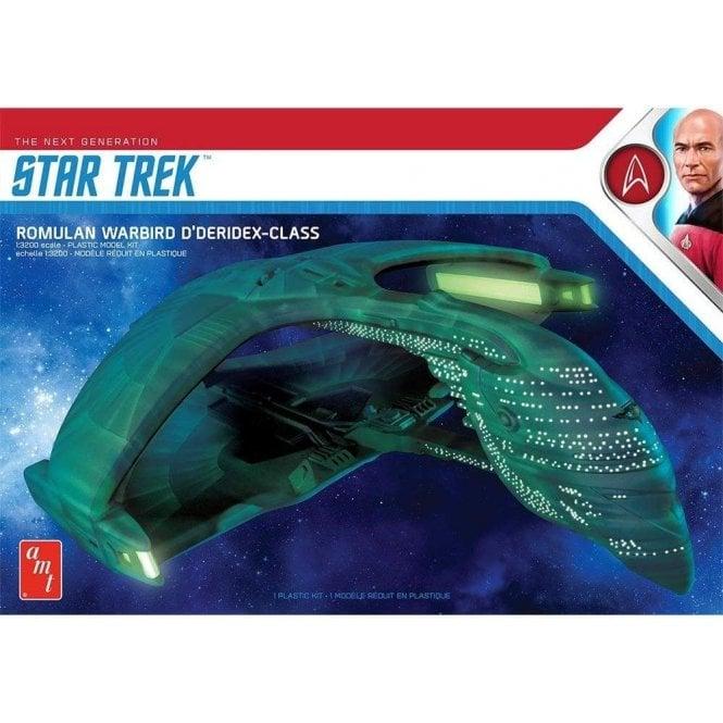 AMT 1:3200 Star Trek Romulan War Bird D'Deridex Class Model Kit