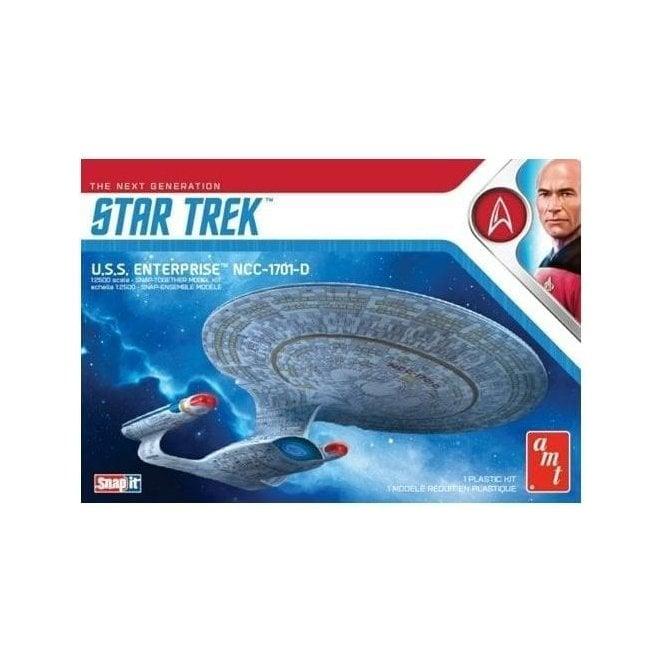AMT 1:2500 Star Trek USS Enterprise-D (Snap) Model Kit
