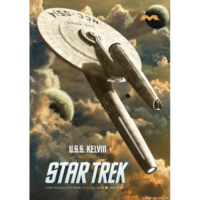 Moebius Models 1:1000 U.S.S Kelvin Star Trek Model Kit