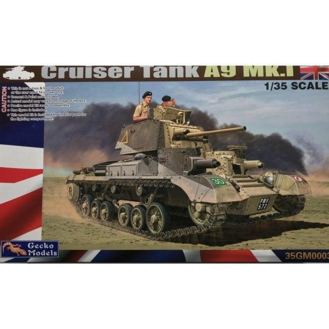 Gecko Models 1//35 35GM0004 British Cruiser Tank A9 Mk.I CS Free Shipping