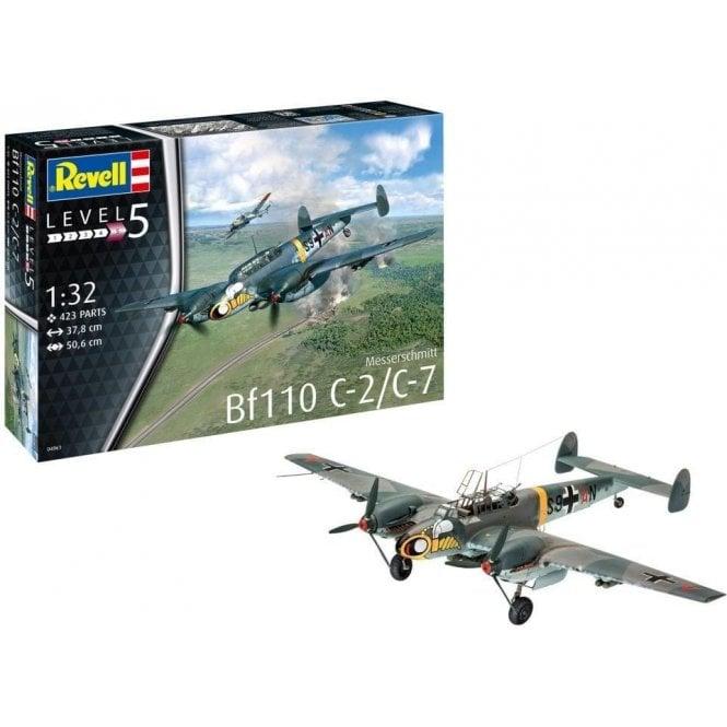 Revell 1:32 Messerschmitt BF-110C-7 Aircraft Model Kit