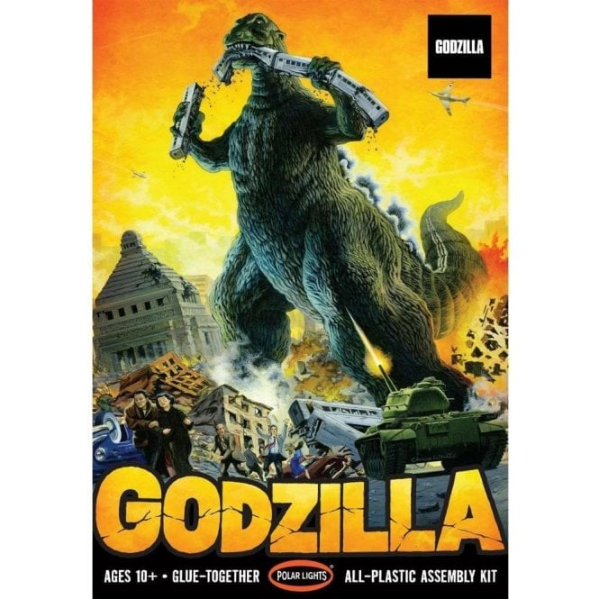 Polar Lights 1:144 Godzilla Figure Kit