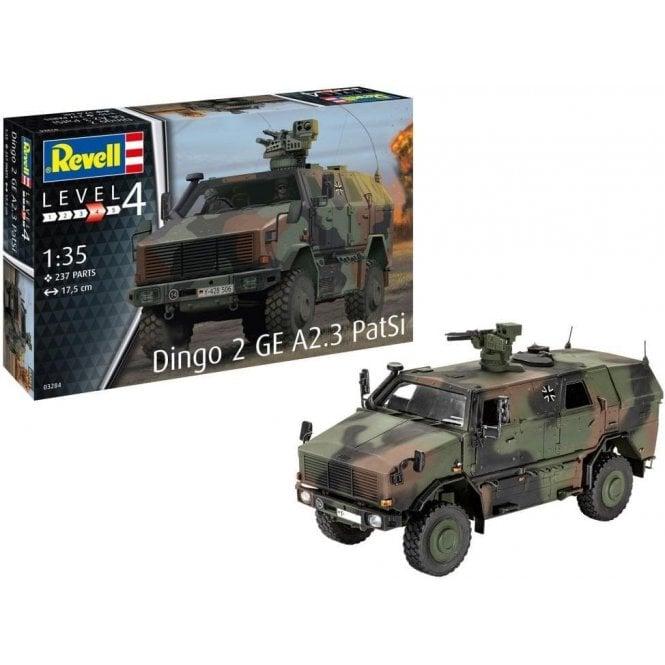 Revell 1:35 Dingo GE A2.3 PatSi Military Model Kit