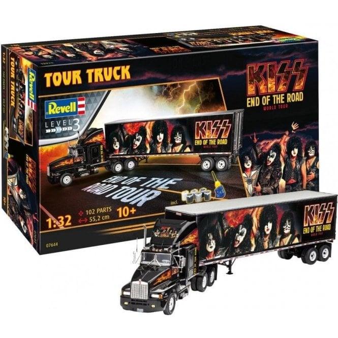 Revell 1:32 Kenworth Gift Set ' KISS ' Tour Truck Model Kit