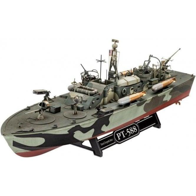 Revell 1:72 Patrol Torpedo Boat PT-588 / PT-579 Model Ship Kit