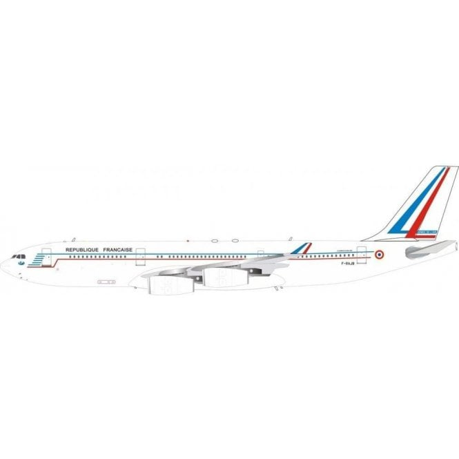 InFlight 200 Airbus A340-200 French Air Force Reg - F-RAJB - 1:200 Scale